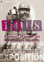 Exposition du 6 au 29 novembre : la première guerre mondiale