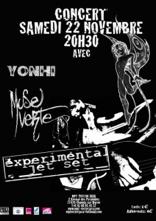 Concert de Rock – Experimental avec  Jet Set/Muse Verte/Yonhi