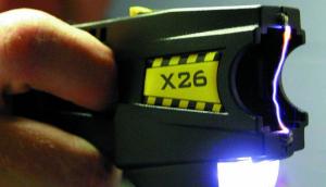 le Taser X26, image trouvée sur wikimédia