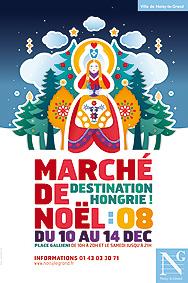 Marché de Noël aux parfums hongrois à Noisy-le-Grand