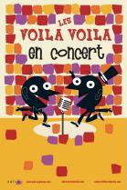 Place aux mômes : Les VOILA VOILA en concert
