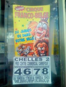 Le cirque franco-belge à Chelles