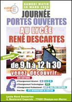 Journée ouvertes au lycée René Descartes