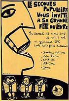 Fête du livre organisé par le Secours Populaire Français