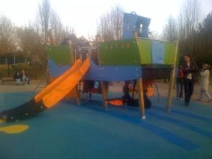 Nouvelle structure du parc de Chelles