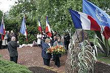 Commémoration de l'armistice de la guerre 1940-1945