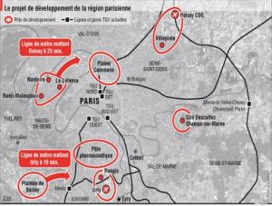 """Christian Blanc présente le """"Grand Paris"""" du 21ème siècle"""