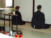 Pratique de zazen - méditation assise