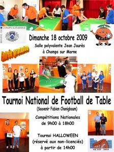 Tournoi national de subbutéo 2009 et tournoi Halloween
