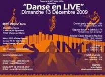 Danse en Live à la MPT Victor Jara