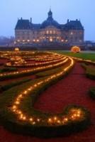 Illuminations du parc du Château de Vaux-le-vicomte