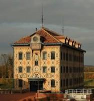 Le moulin Saulnier dans la chocolaterie Menier à Noisiel