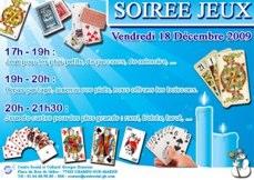 Soirée Jeux au centre social et culturel Georges Brassens