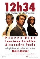 """Théâtre : """"12h34 une comédie de bureau"""" de Marc Jolivet"""