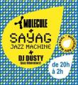 Sayag, Molécule et DJ Dusty à l'Abreuvoir à Musique